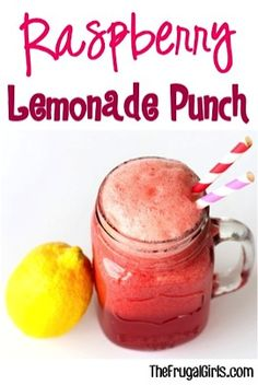 Raspberry Lemonade Punch Recipe