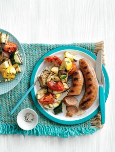 Have some leftovers? Slice any extra sausage and cut vegetables smaller; toss together with cooked pasta, 2 Tbsp olive oil and shredded Parmesan. Get the recipe.  - WomansDay.com