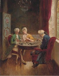 alois heinrich priechenfried: 1 thousand results found on Yandex.Images Table Games, Game Tables, How To Play Chess, Game Of The Day, House Games, Different Games, Old World Style, Chess Pieces, After Dark