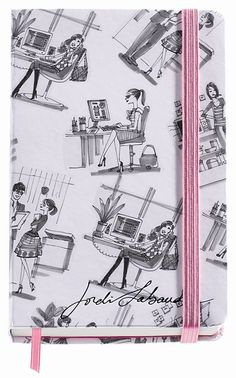 Jordi Labanda Small Bound Notebook-Chit-Chat