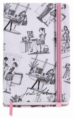 Jordi Labanda Small Bound Notebook-Chit-Chat