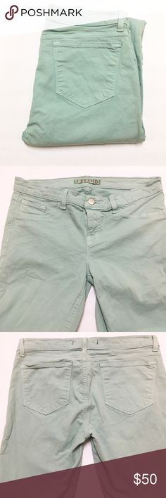 "J Brand Skinny in ""Juniper"" Size 30, ""Juniper"" mint green color. measurements and more to come! J Brand Jeans Skinny"