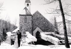 Beaver Creek chapel mid-winter.  Planner: www.idoweddingservices.com.  I can't remember who the photographer for this wedding was.  Who took this photo?