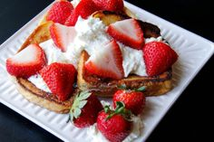 The Kitchen Whisperer French Toast with Whipped Lemon Ricotta and Strawberries
