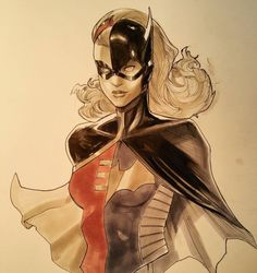 Robin/Stephanie Brown by Peter Nguyen *
