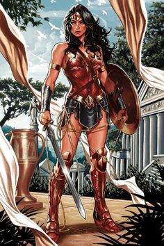 Wonder Woman by Mark Brooks