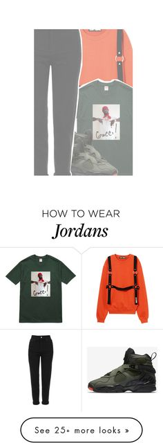 """""""backyard- Travis $cott"""" by drakeschild on Polyvore featuring Gucci, NIKE and Topshop"""