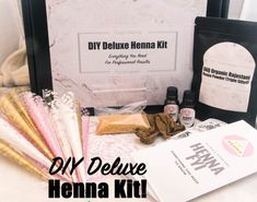 Mehndi Henna Kit Review : Review of the mehndi henna kit by jacquard & how to use your