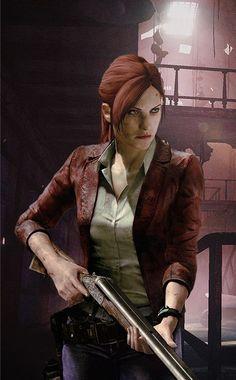 #ClaireRedfield #ResidentEvil #Game