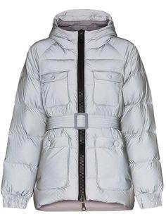 Ienki Ienki Berlin Reflective Hooded Padded Jacket In R Grey Puffer Jackets, Winter Jackets, Satin Jackets, Padded Jacket, Gray Jacket, Size Clothing, Fashion Forward, Hoods, Berlin