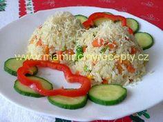 Zeleninové rizoto Czech Food, Gnocchi, Grains, Recipes, Seeds, Korn