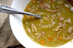 Classic Slow Cooked Ham And Pea Soup - My Cooking Ideas 2019 Slow Cooked Ham, Cooking Ham In Crockpot, Slow Cooker Recipes, Crockpot Recipes, Soup Recipes, Recipies, Cooking Corn, Cooking Steak, How To Cook Meatloaf