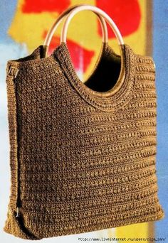 Crochet bag tutorial.. and it is free
