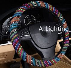 A-Lighting Ethnic Style Coarse Flax Cloth Automotive Steering Wheel Cover Anti Slip and Sweat Absorption Auto Car Wrap Cover - A A-Lighting http://www.amazon.com/dp/B0108EYWU6/ref=cm_sw_r_pi_dp_978qwb17WNYDY