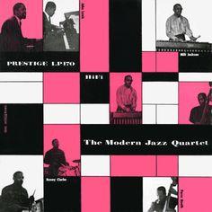 "The Modern Jazz Quartet, ""The Modern Jazz Quartet,"" 1955 (design: Don Schlitten)"