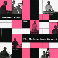 "The Modern Jazz Quartet, ""The Modern Jazz Quartet,"" 1955 (design: Don Schlitten)"