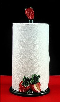 Strawberry Paper towel holder