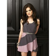Lucy Hale as Aria Montgomery in Pretty Little Liars Season 1 Promo... ❤ liked on Polyvore