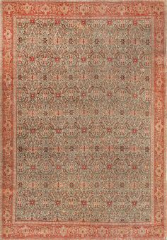 Very Fine Collectible Antique Persian Senneh Carpet Rug : Lot 114  Nazmiyal Holds Antique Carpet Auction http://nazmiyalantiquerugs.com/blog/2014/05/nazmiyal-holds-antique-carpet-auction/