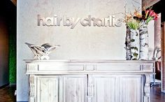 SALON DESIGN  |  hair by charlie, dallas, jessica mcintyre interiors
