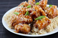 General Tso's Chicken - Tangy, spicy, and crispy, just like take-out! It's easier than you think