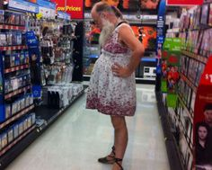 Walmart People Wal Mart  Meanwhile At Walmart Photos This Had To Have Been Some Sort Of Bet Lol