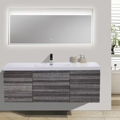 "MOB 59"" Single Bathroom Vanity Set"