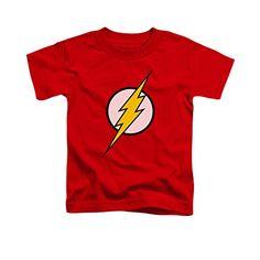 Flash Kids Symbol T-Shirt - Maddox 5/6T or kids XS; Ryker 4/5T