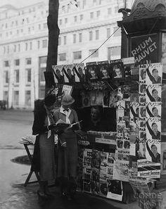 Les Champs-Elysées, 1933