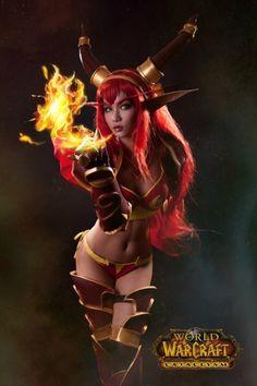 World of Warcraft Alexstraza Cosplay