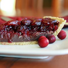 Chocolate Cranberry Pie Recipe from Grandmother's Kitchen