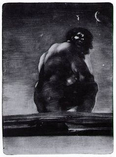 Francisco Goya. Giant June