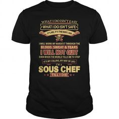 SOUS-CHEF T-SHIRTS, HOODIES, SWEATSHIRT (21.99$ ==► Shopping Now)