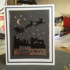 Franki's Craft Chat and Coffee: Christmas cottage scenes.....