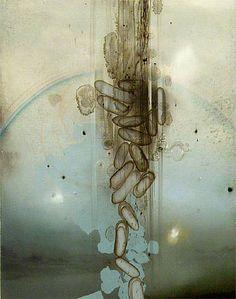 Darren Waterston, Aurora Study, oil on linen, 14 x 11