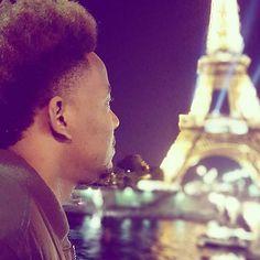Gazin' @steveesquire | Eiffel Tower | #Paris. ••••••••••••••••••••••••••••••••••••••••••••••••••••••••••••••••••• To be featured tag us  #blacktravelhackers ••••••••••••••••••••••••••••••••••••••••••••••••••••••••••••••••••