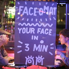 Esqueça as máquinas de fotos instantâneas! A Face-o-mat promete caricaturas estranhas e engraçadas em 3 minutos. Confira!