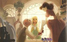 """Art Of Tangled"" Scans Pt. 2 'Storyboard And Personal Favorites Art' - Disney Princesses"