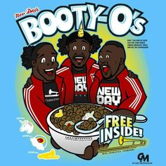 New Day's Booty-O's Cereal