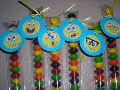 15 Sponge Bob Squarepants Candy Treat Bags by JustTheCuteStuff, $12.95