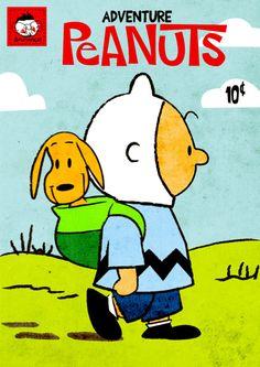 Adventure Time / Peanuts Mash Up