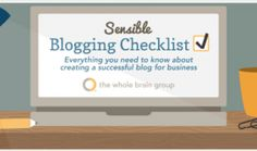 How to Blog Sensibly: A Business Blogging Checklist