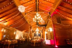 Mount Ida Farm - Virginia Venues - Love everything about this barn wedding venue, especially the lighting