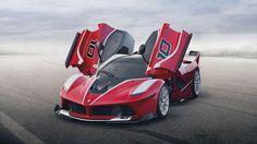 Ferrari's new 1,035 horsepower hypercar is not even street legal: http://bit.ly/1pTe7Hl
