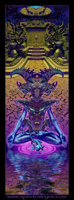 Jesterrestrial by Luke Brown SpectralEyes.com