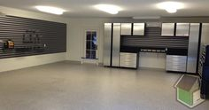 Modern Garage Cabinets Sears With Silver Glossy Design Ideas Combined With Futuristic Interior Room Decoration For & Motorcycle Dream Garage | For the Home | Pinterest | Ultimate garage ...