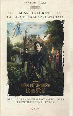 Miss Peregrine. La casa dei ragazzi speciali - agosto https://www.goodreads.com/topic/show/18194827