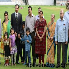 V.V.S Laxman family Still