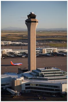 Denver International Airport - FAA Control Tower