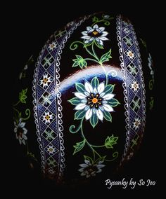 Made To Order: Love In A Mist Pysanka Pysanky  EBSQ Juried Plus